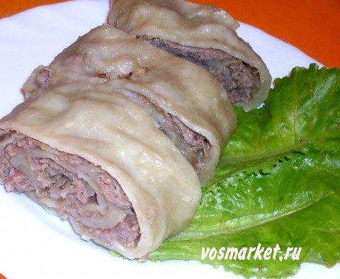 Фото готового блюда: Ханум
