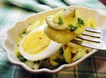 Фото готового блюда: Картофельный салат по-немецки