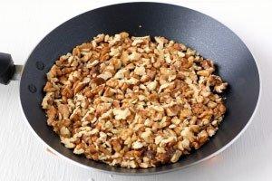 Грецкие орешки обжаривайте