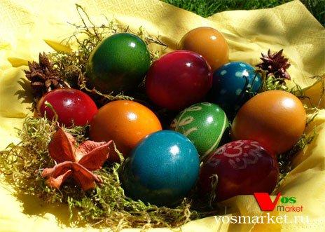 Украшенные яйца для Пасхи
