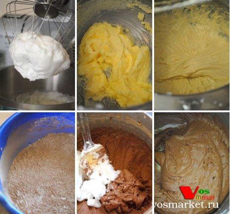 Приготовление бисквитного теста