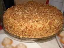 Главное фото рецепта Необычный торт Наполеон