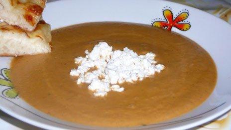 Готовый суп-пюре