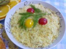 Фото готового блюда: Салат с сухими грибами