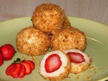 Фото готового блюда: Десерт из клубники