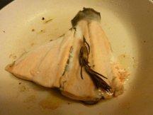 Отваренная рыба