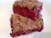 Главное фото рецепта Крамбль - пирог с вишней