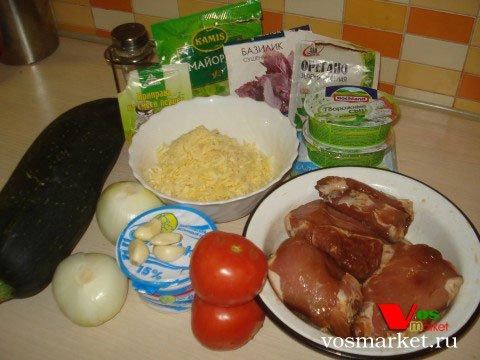 Ингредиенты для приготовления свиных отбивных в духовке