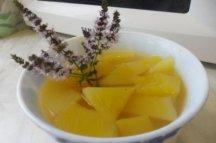 Главное фото рецепта Компот из тыквы с корицей