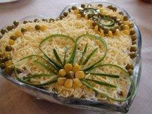 Главное фото рецепта Салат с копченой курицей