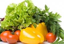 Правильно хранить зелень и овощи