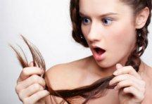 Секущие кончики волос