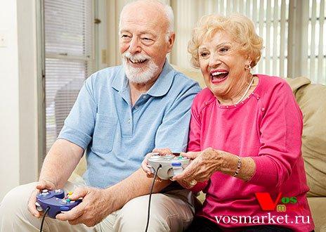 Здоровые старые люди