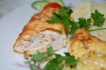Главное фото рецепта Котлеты-бризоль со шпинатом