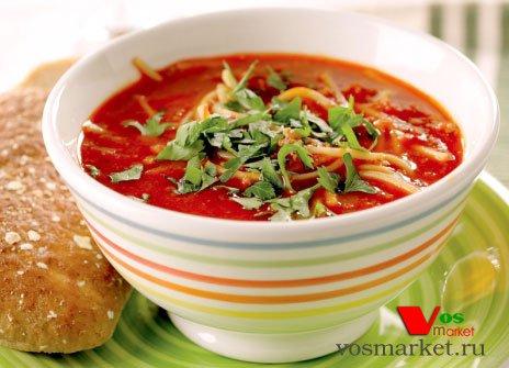 Готовый томатный суп