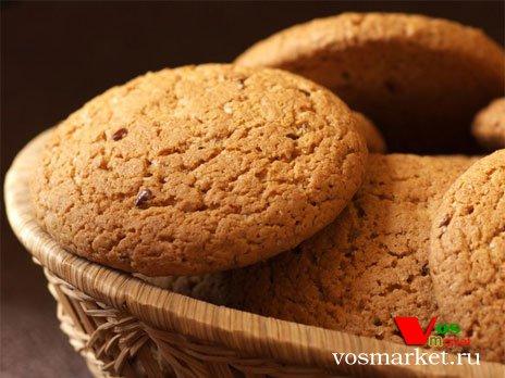 Готовые имбирные печенье