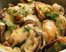 Главное фото рецепта Теплый салат с мидиями