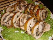Главное фото рецепта Куриный рулет с печенью