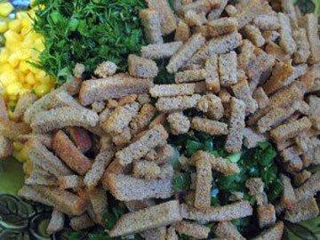 Остальные ингредиенты салата