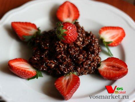 Готовый шоколадный десерт