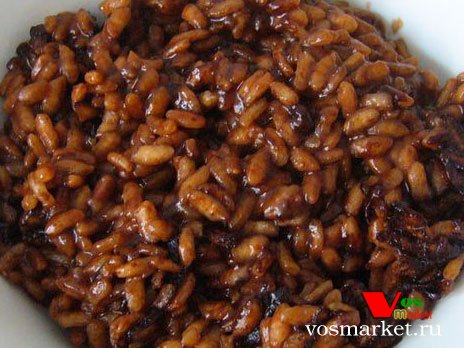 Рис с добавленным шоколадом