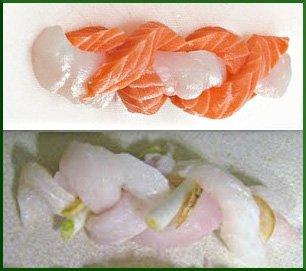 Процесс приготовления рыбных косичек
