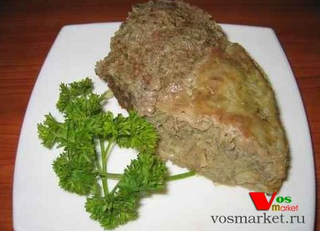 Фото готового блюда: Картошка с фаршем в духовке
