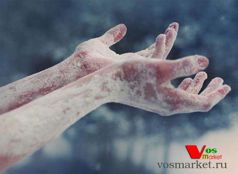 Замороженные руки