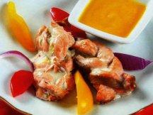 Фото готового блюда: Косички рыбные в духовке