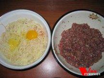 Фото приготовления Картошка с фаршем в духовке