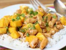 Главное фото рецепта Курица с ананасами в соусе