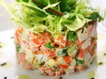 Главное фото рецепта Оливье с морепродуктами