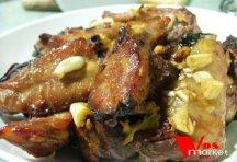 Фото готового блюда: Свиные ребрышки в духовке