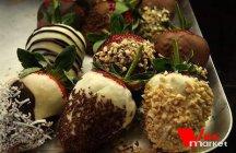 Фото готового блюда: Клубника в шоколаде