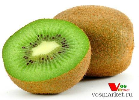 Сечение фрукта киви