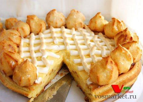Готовый торт Сент-Оноре