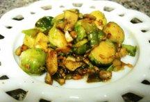 Главное фото рецепта Брюссельская капуста с грибами