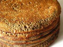 Главное фото рецепта Пшенично-гречневые блины