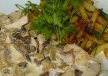 Главное фото рецепта Фрикасе из курицы и грибов