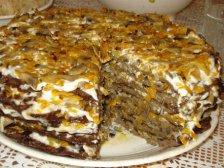 Главное фото рецепта Печёночный торт