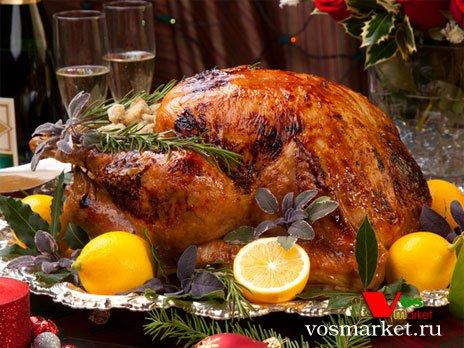 Фото готового блюда: Рождественская индейка
