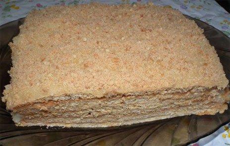 Готовый торт Медовик