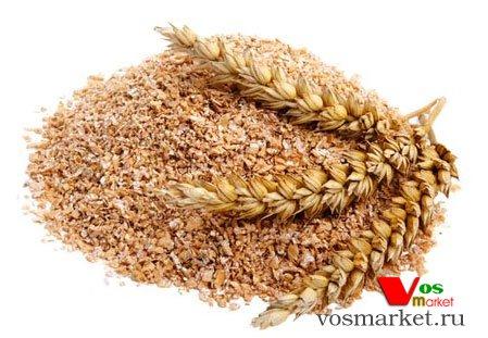 Пшеничные отруби с колоссами