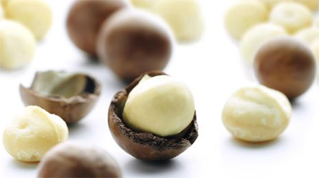 Очищенные орехи Макадамия