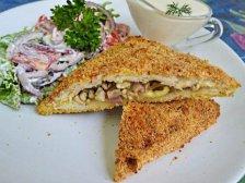 Главное фото рецепта Горячие бутерброды в панировке