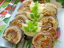 Фото готового блюда: Рулеты из скумбрии