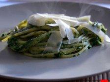 Фото готового блюда: Спагетти со шпинатом