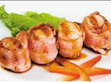 Главное фото рецепта Гребешки-гриль на шпажках