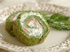 Фото готового блюда: Шпинатные роллы