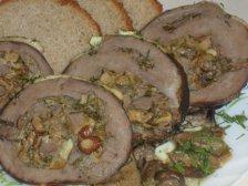 Главное фото рецепта Сердце с грибной начинкой